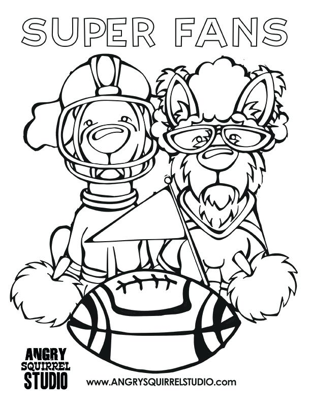 612x792 Free Coloring Pages Football Print Free Printable Coloring Pages