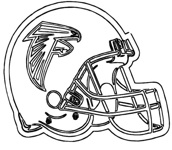 570x498 Nfl Football Helmet For Games Coloring Page Kids Coloring Pages