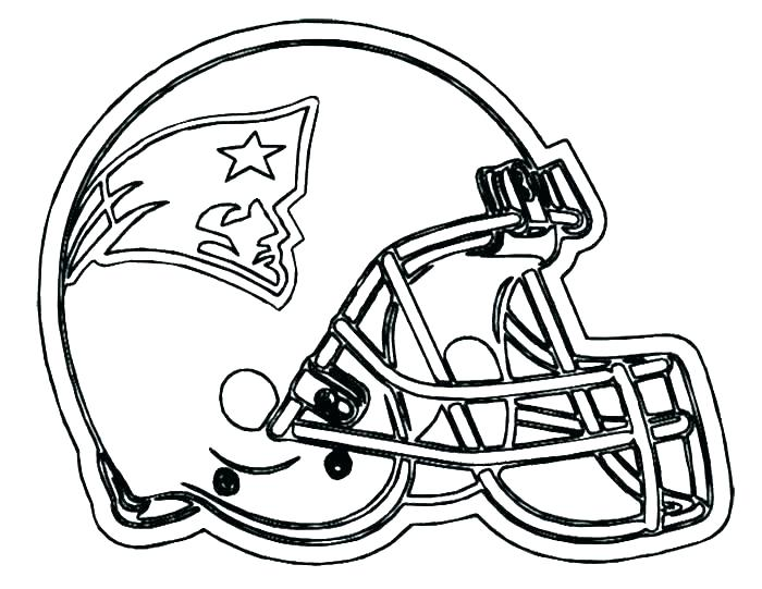 700x541 Team Logo Coloring Pages Football Helmet Coloring Pages Free Team