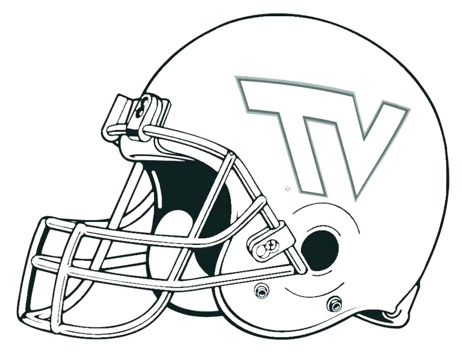 940x719 Free Broncos Coloring Pages