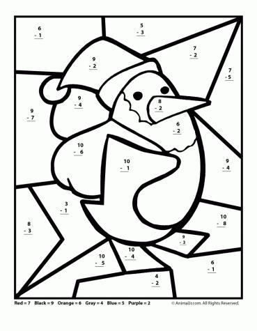 369x475 Free Printable Christmas Math Worksheets Pre K, Grade