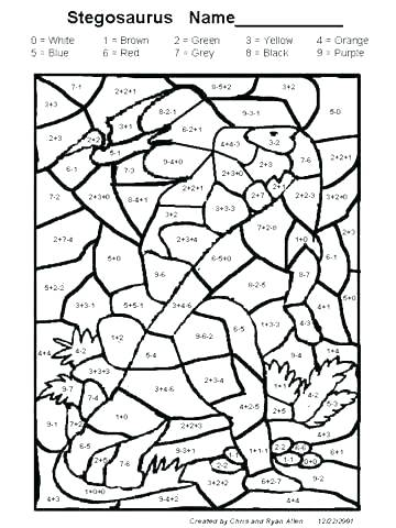 360x480 Grade Math Coloring Worksheets Halloween Printable Math
