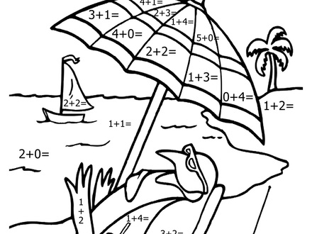 440x330 Addition Coloring Pages First Grade, Addition Worksheets