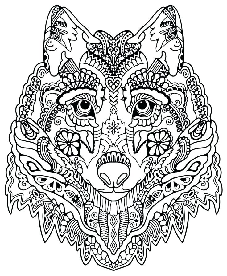 736x896 Intricate Coloring Pages To Print Intricate Coloring Pages