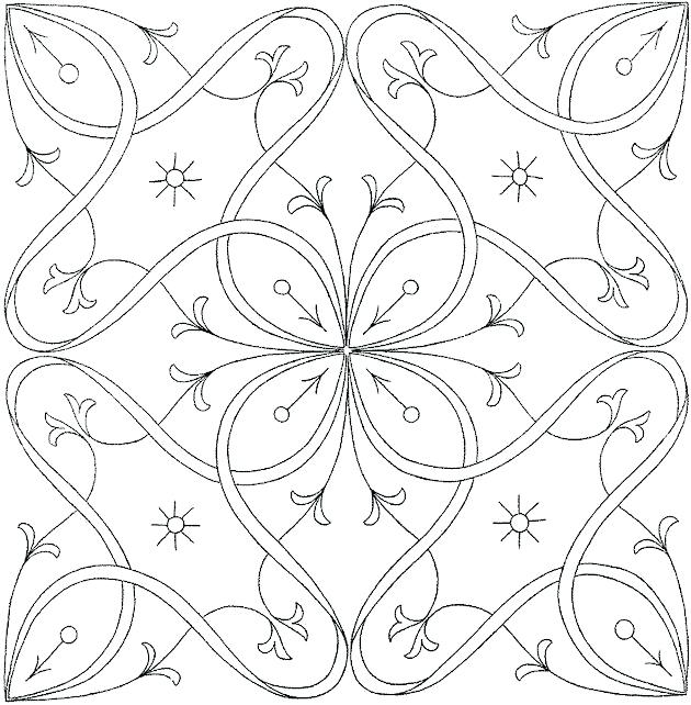 630x642 Printable Flower Coloring Pages For Adults Free Printable Coloring