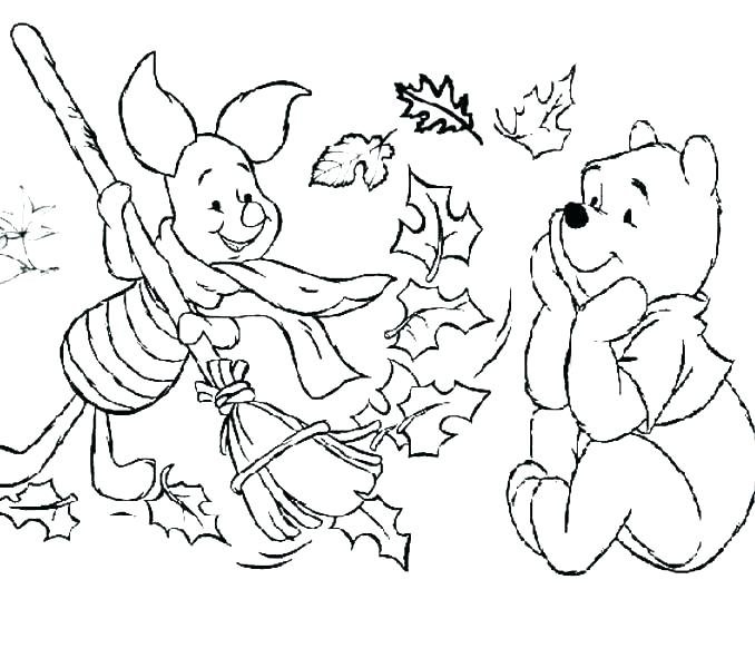 678x600 Fall Coloring Pages Free Printable