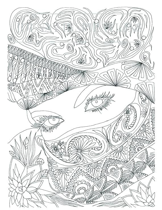 570x738 Free Coloring Pages Adult