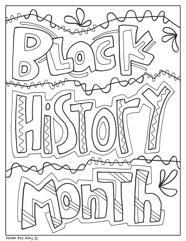Free Coloring Pages For Black History Month at GetDrawings ...