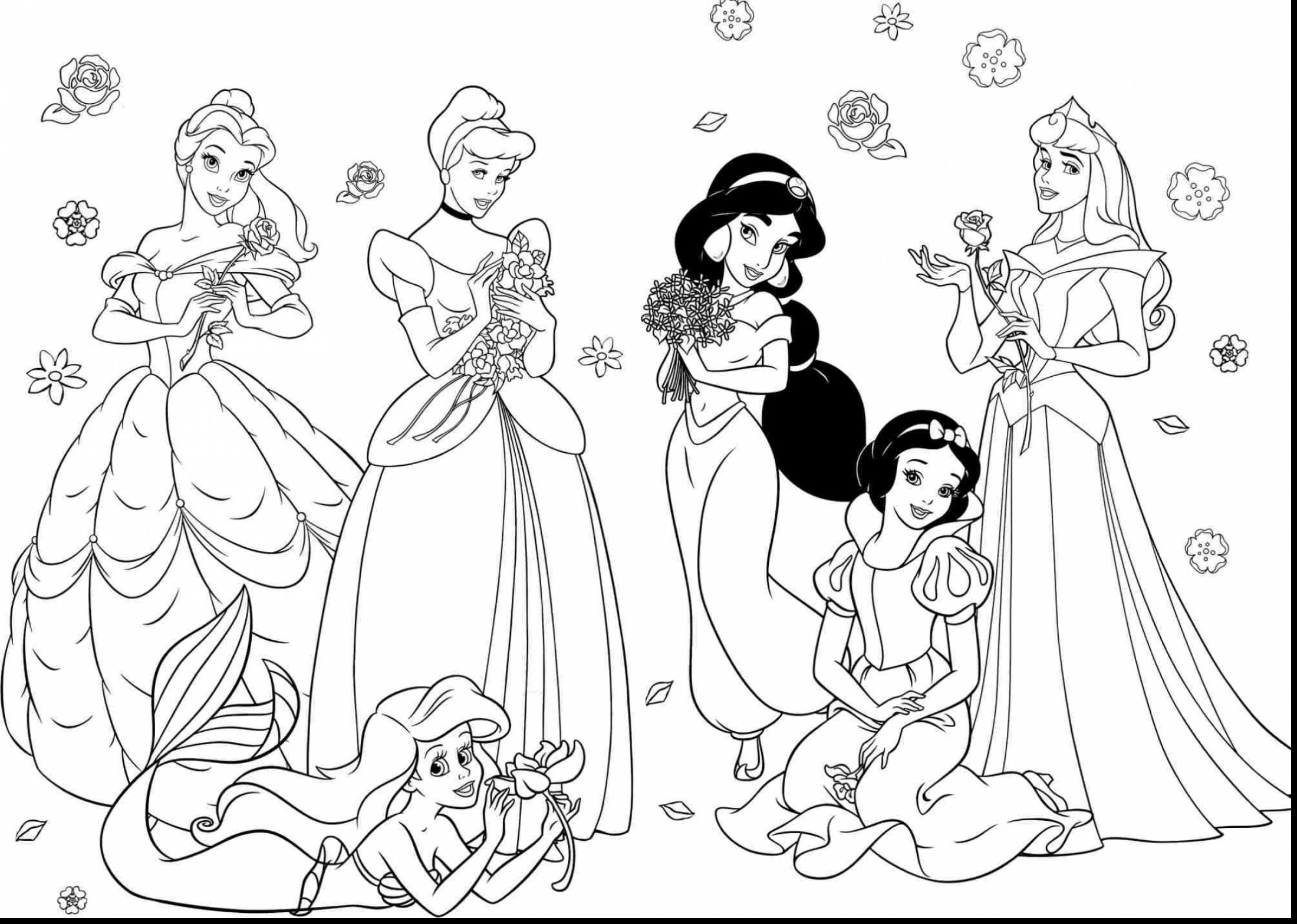 2200x1567 Awesome Princess Coloring Pages For Girls Free Coloring Pages