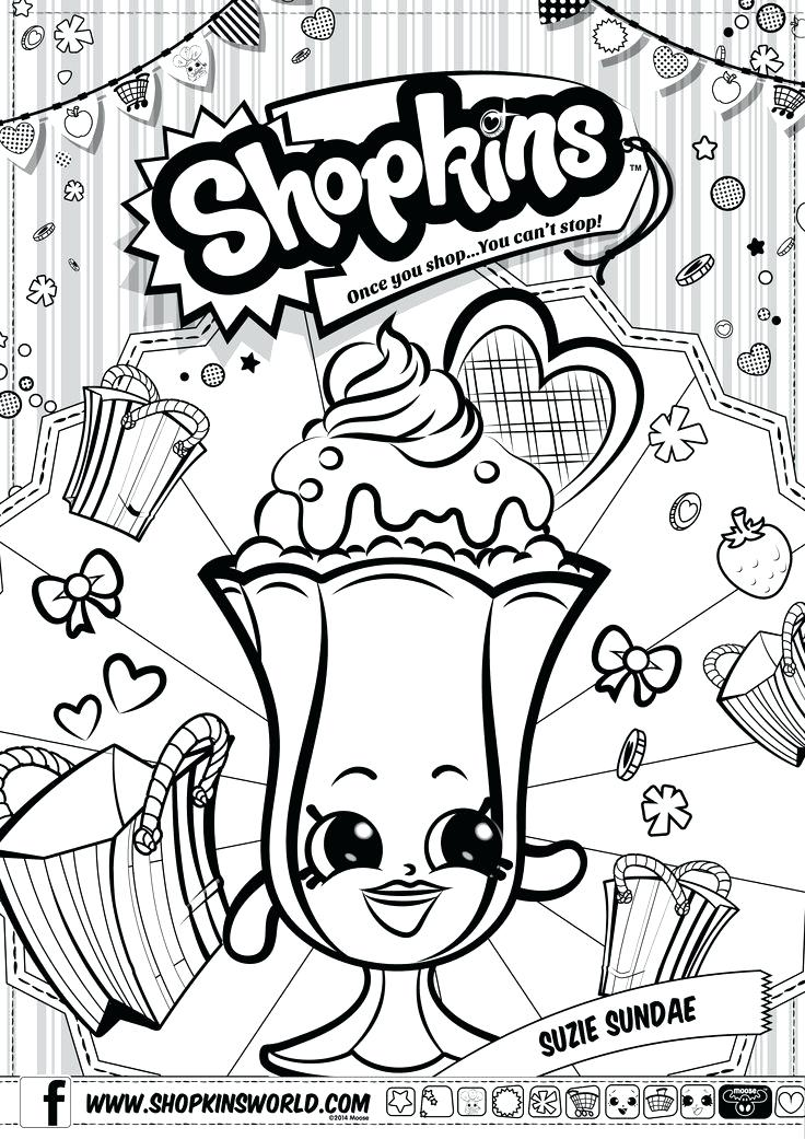 736x1041 Shopkins Coloring Pages Printable Free Coloring Pages For Girls