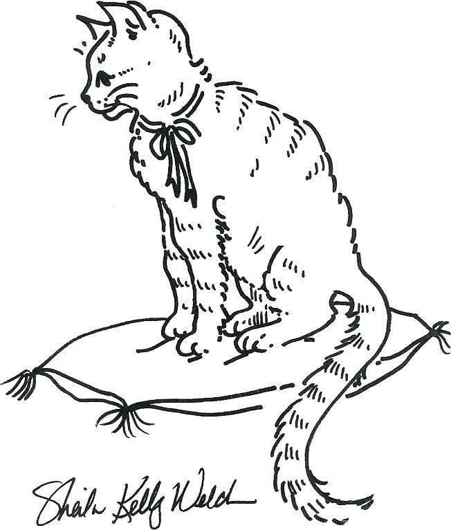 652x766 Coloring Pages For Kids Printable Madam Walker Coloring Page Cat