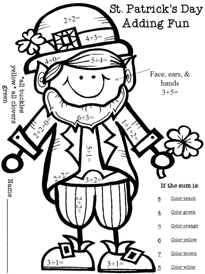 Free Coloring Pages For St Patricks Day at GetDrawings.com ...