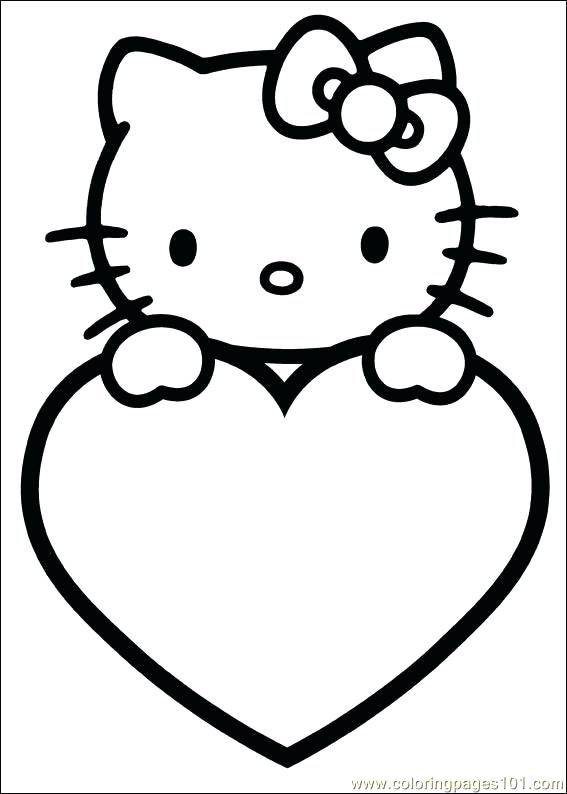 567x794 Printable Valentine Coloring Pages Valentine Day Color Pages