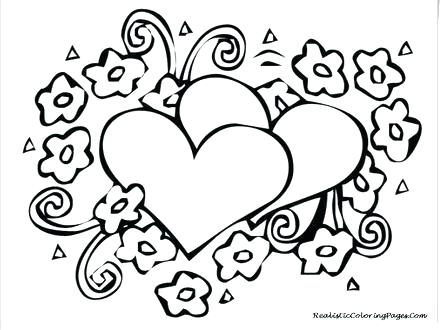 440x330 Valentines Day Free Coloring Pages Coloring Page Valentines Day