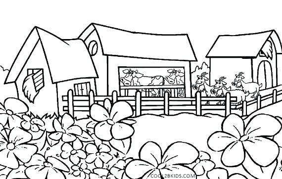 570x362 Nature Coloring Pages Coloring Pages Nature Nature Coloring Pages