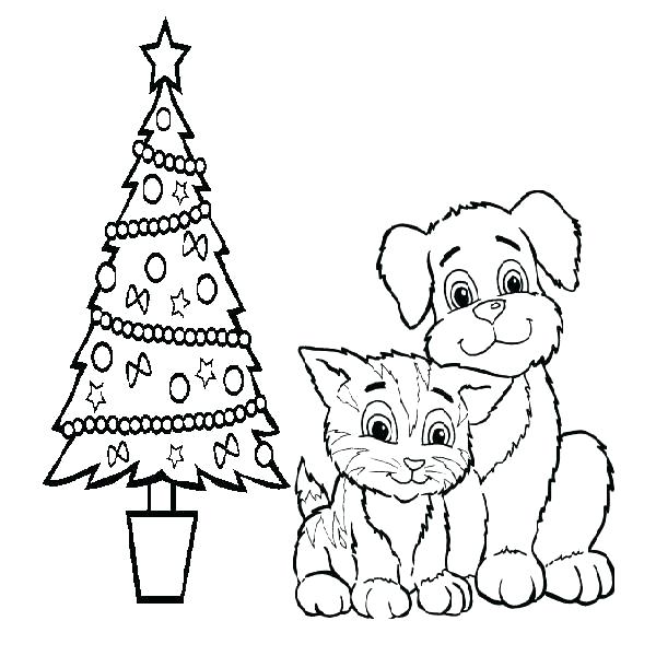 600x600 Coloring Pages Dogs Coloring Pages Cat And Dog Coloring Pages Cat