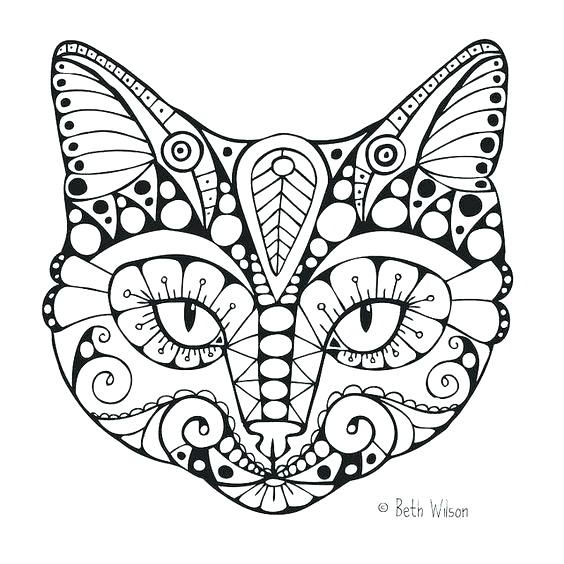 564x564 Coloring Pages Kittens Awesome Coloring Pages Of Cats Online Free