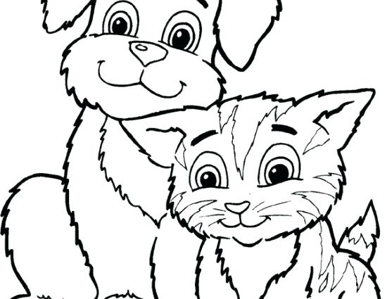 550x425 Free Coloring Pages Cats Fancy Cats And Dogs Coloring Pages