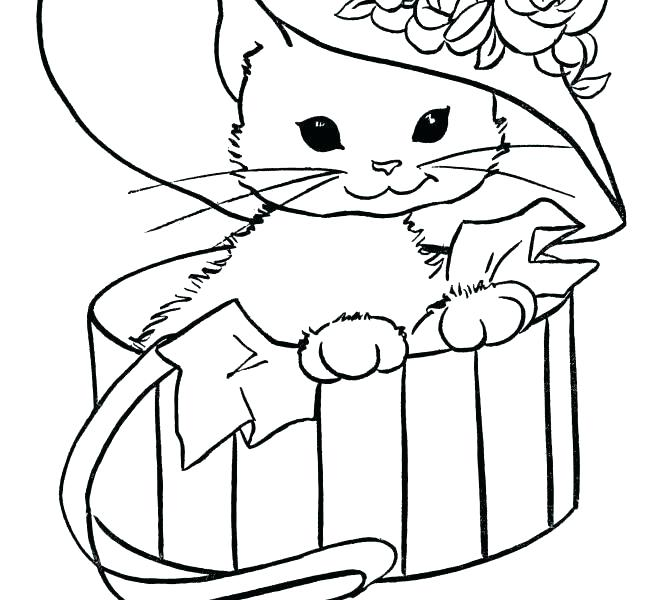 670x600 Free Coloring Pages Cats Free Coloring Pages Of Cats Free Coloring