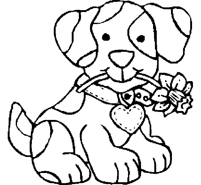 650x600 Free Coloring Pages Dogs And Cats Copy Fresh Dog Cat Preschool