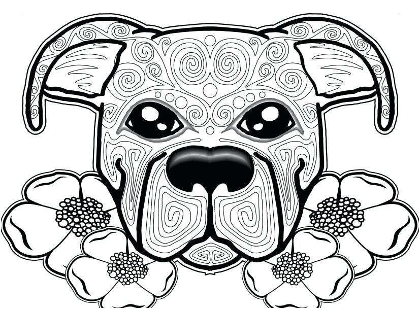 827x609 Free Coloring Pages Of Dogs Free Coloring Pages Dogs Free