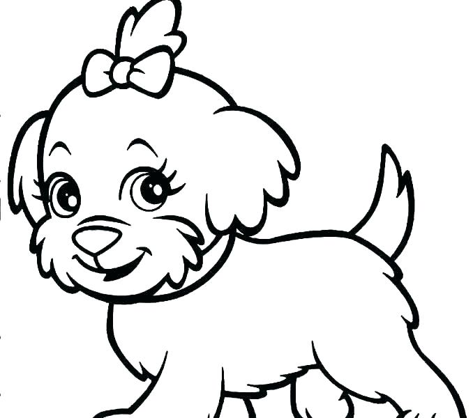 678x600 Free Coloring Pages Dogs