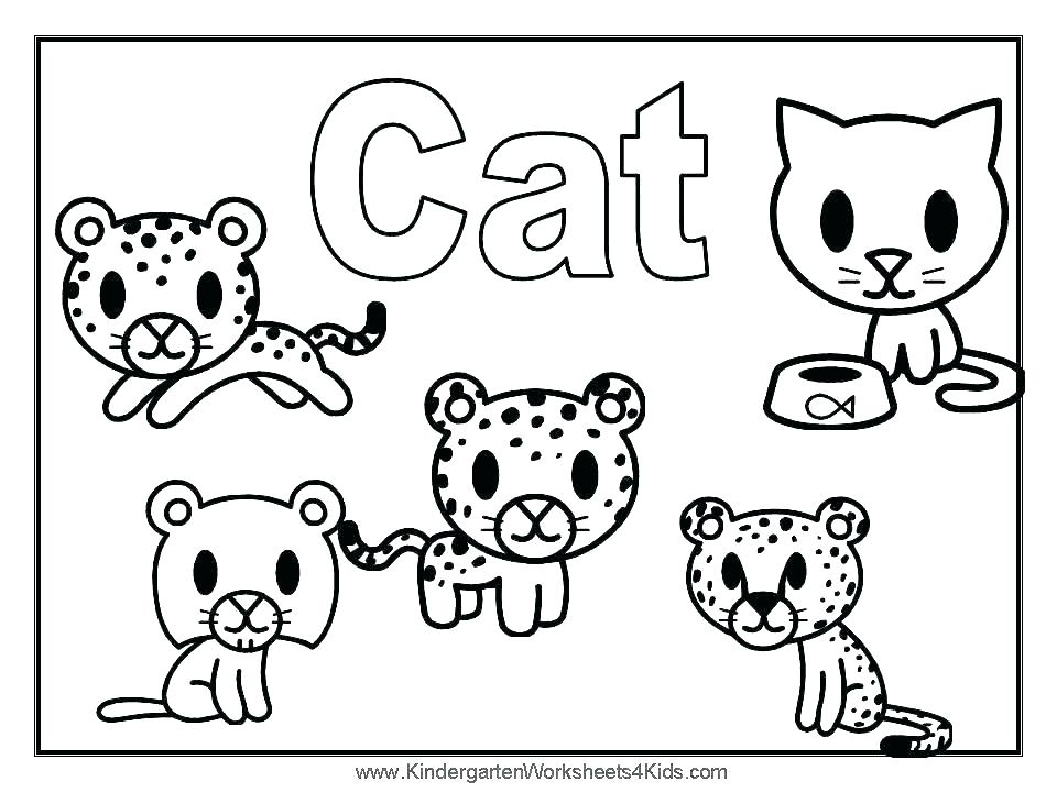 960x720 Cats Coloring Pages Free Coloring Pages Cute Little Kitten Dog