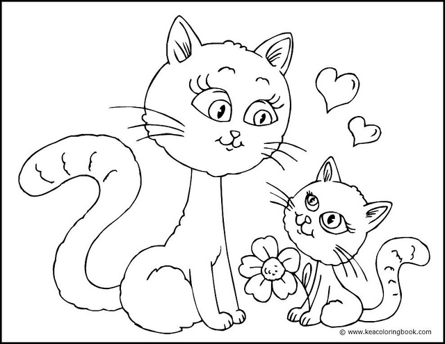 640x495 Free Coloring Pages Of Cats And Kittens