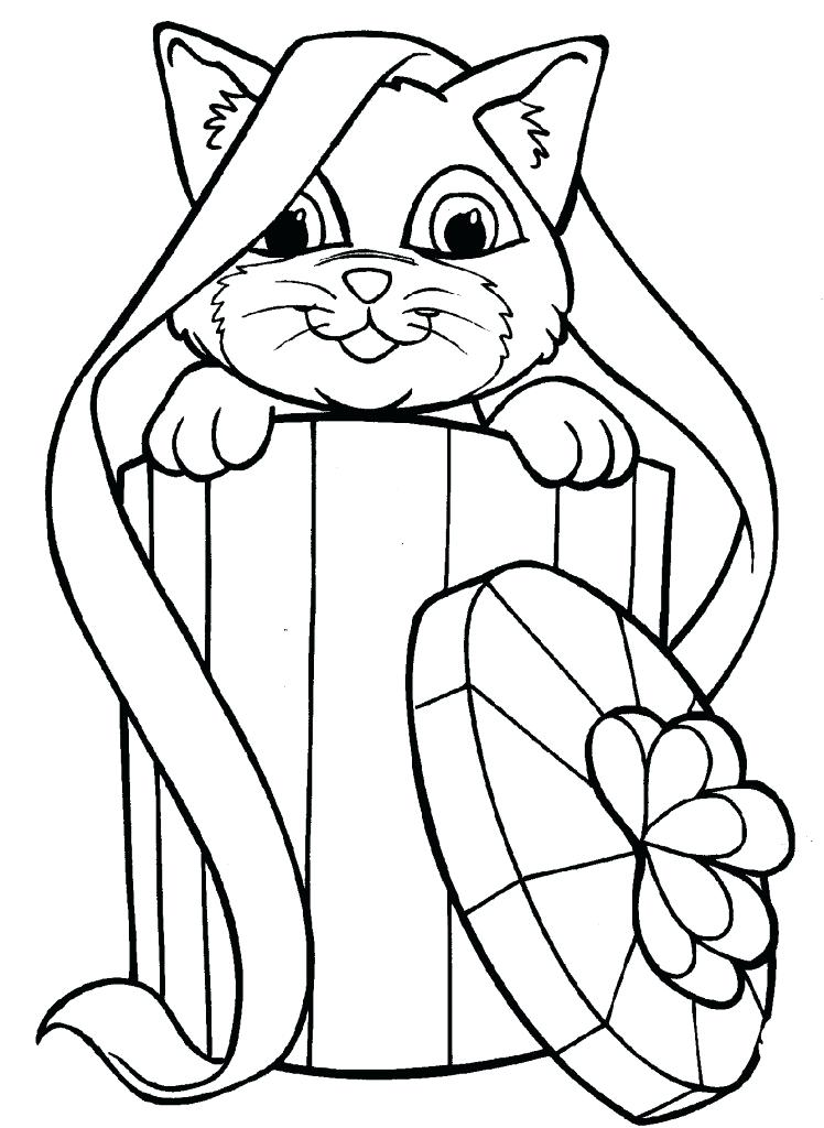 748x1024 Free Coloring Pages Of Kittens Coloring Pages Cats Real Coloring