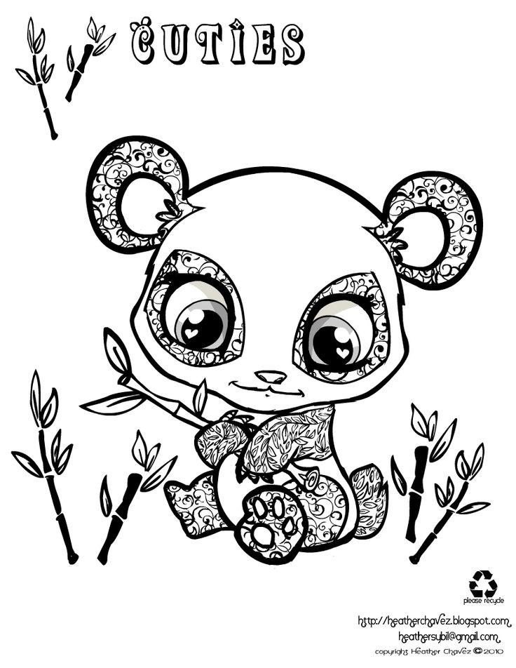 736x952 Best Super Cute Animal Coloring Pages Images