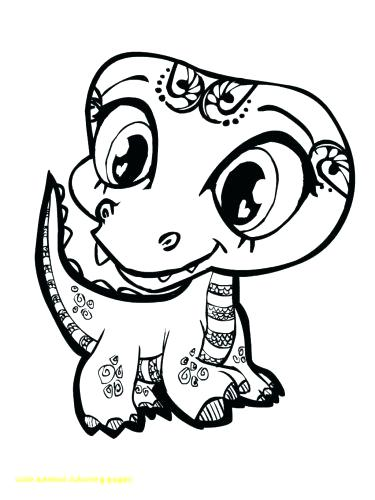 375x500 Free Coloring Pages Of Animals As Well As Cute Baby Animal
