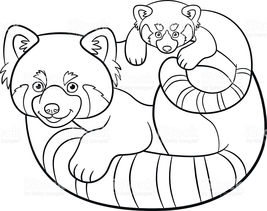1024x809 Panda Coloring Page Printable Free Download Cute Animals Christmas
