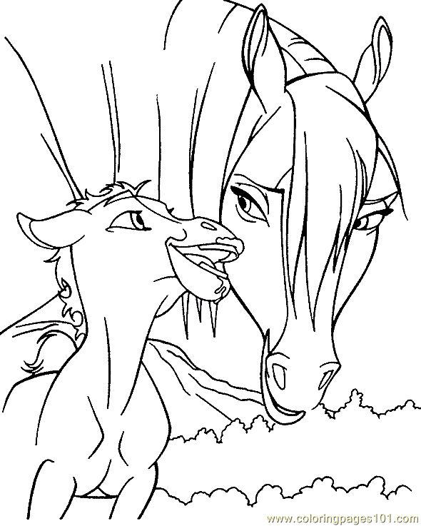 Free Coloring Pages Of Horses To Print at GetDrawings.com   Free for ...