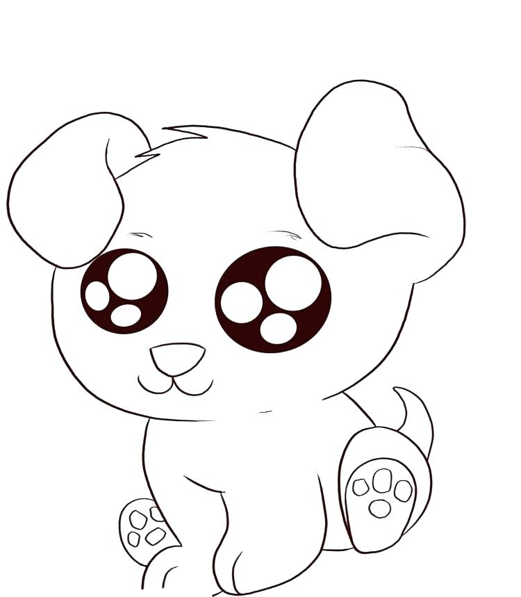 Free Coloring Pages Of Kittens And Puppies at GetDrawings.com | Free ...
