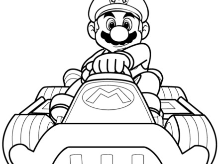Free Coloring Pages Of Mario