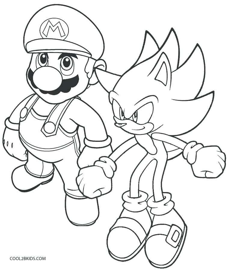 758x900 Free Coloring Pages Mario Free Online Super Mario Coloring Pages