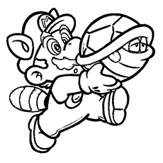 230x230 Top Free Printable Super Mario Coloring Pages Online