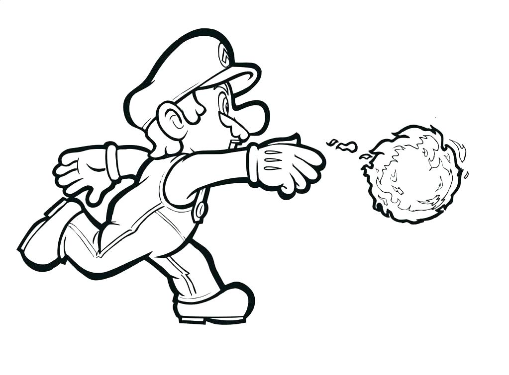 1023x755 Free Coloring Pages Mario Bros Coloring Free Coloring Pages Good