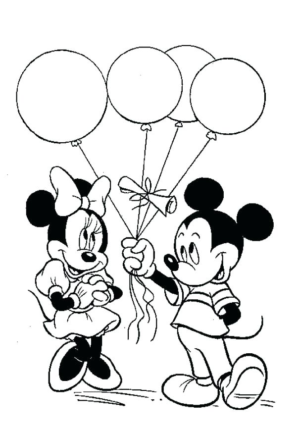 600x880 Minnie Mouse Clubhouse Coloring Pages And Mickey Mouse Coloring