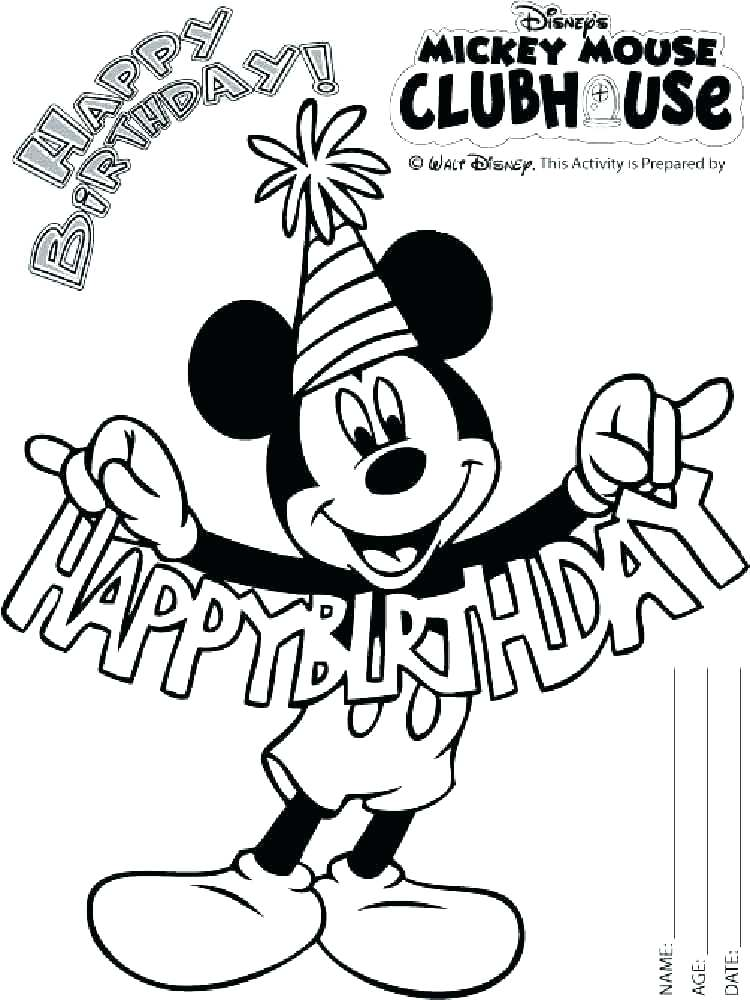 750x1000 Exciting Coloring Pages Of Mickey Mouse Mickey Mouse Coloring