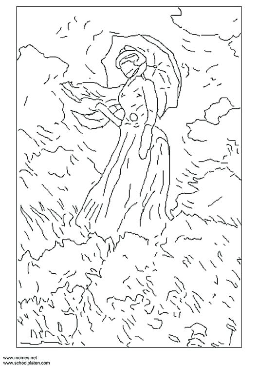 530x750 Monet Coloring Pages Good Coloring Pages Print Water Lilies