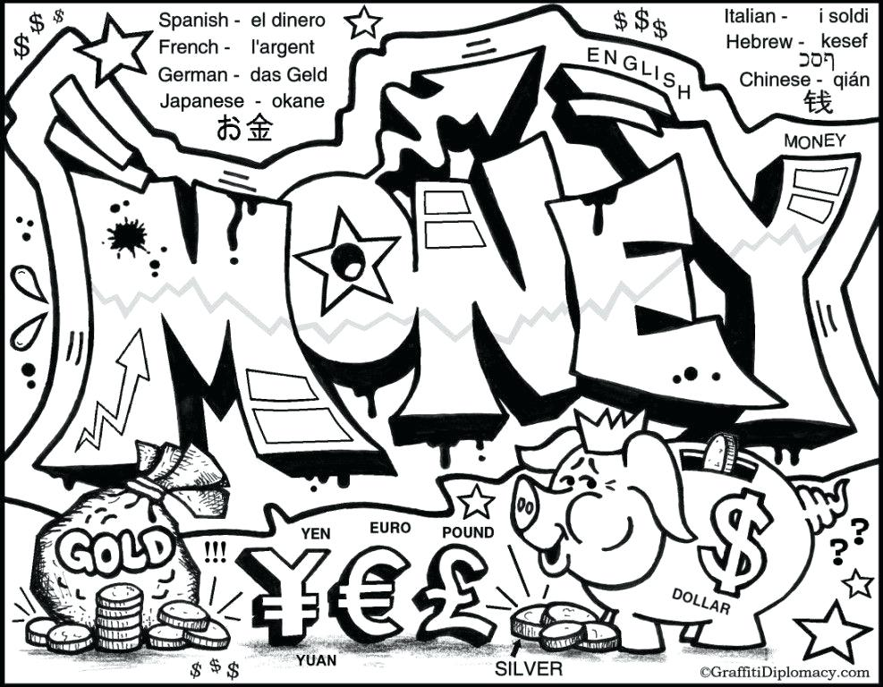 987x768 Money Graffiti The Gallery Presents Current Highlighted Work Money