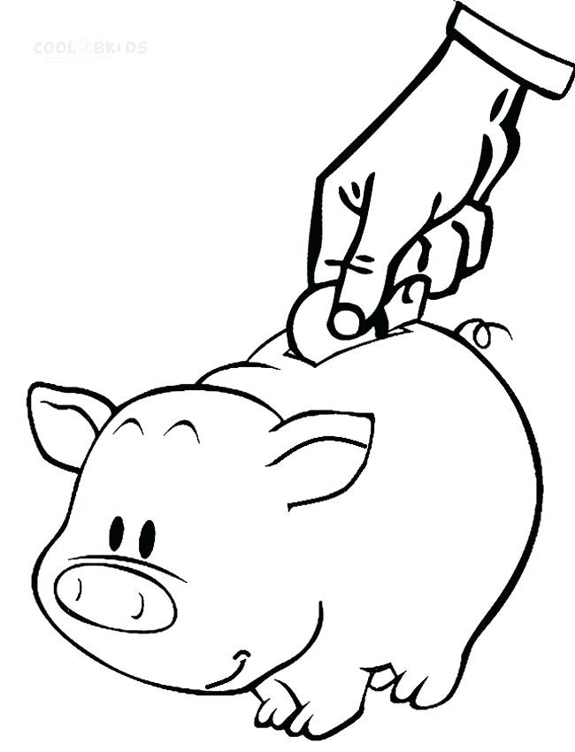 650x850 Printable Coin Coloring Pages To Her With Saving Money Coloring