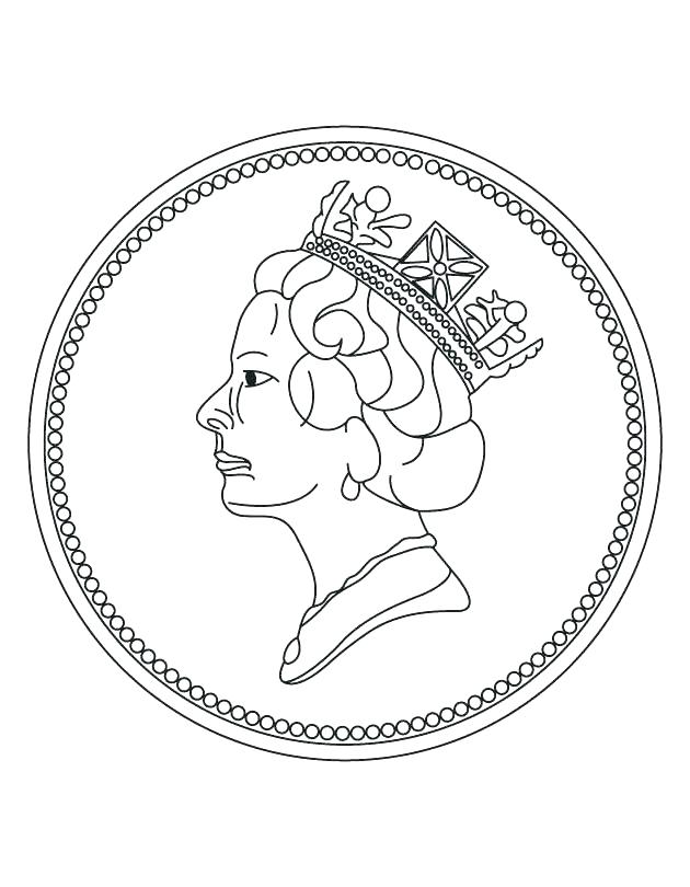 630x810 Coins Coloring Page Awesome Money Coins Coloring Pages With Coins