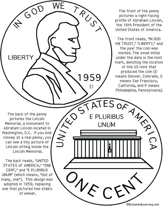 558x707 Coins Coloring Page Monument Coloring Page Coins Coloring Page Us