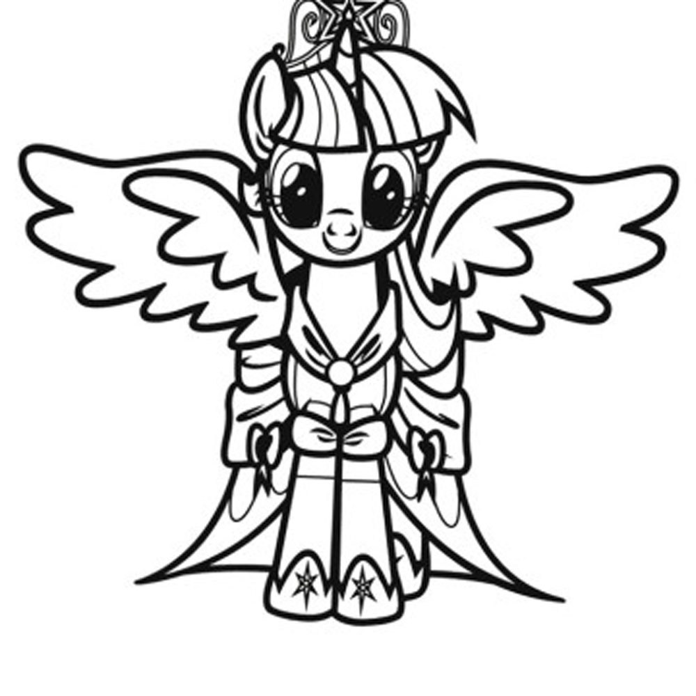 1000x1000 Free Coloring Pages Of My Little Pony Friendship Is Magic