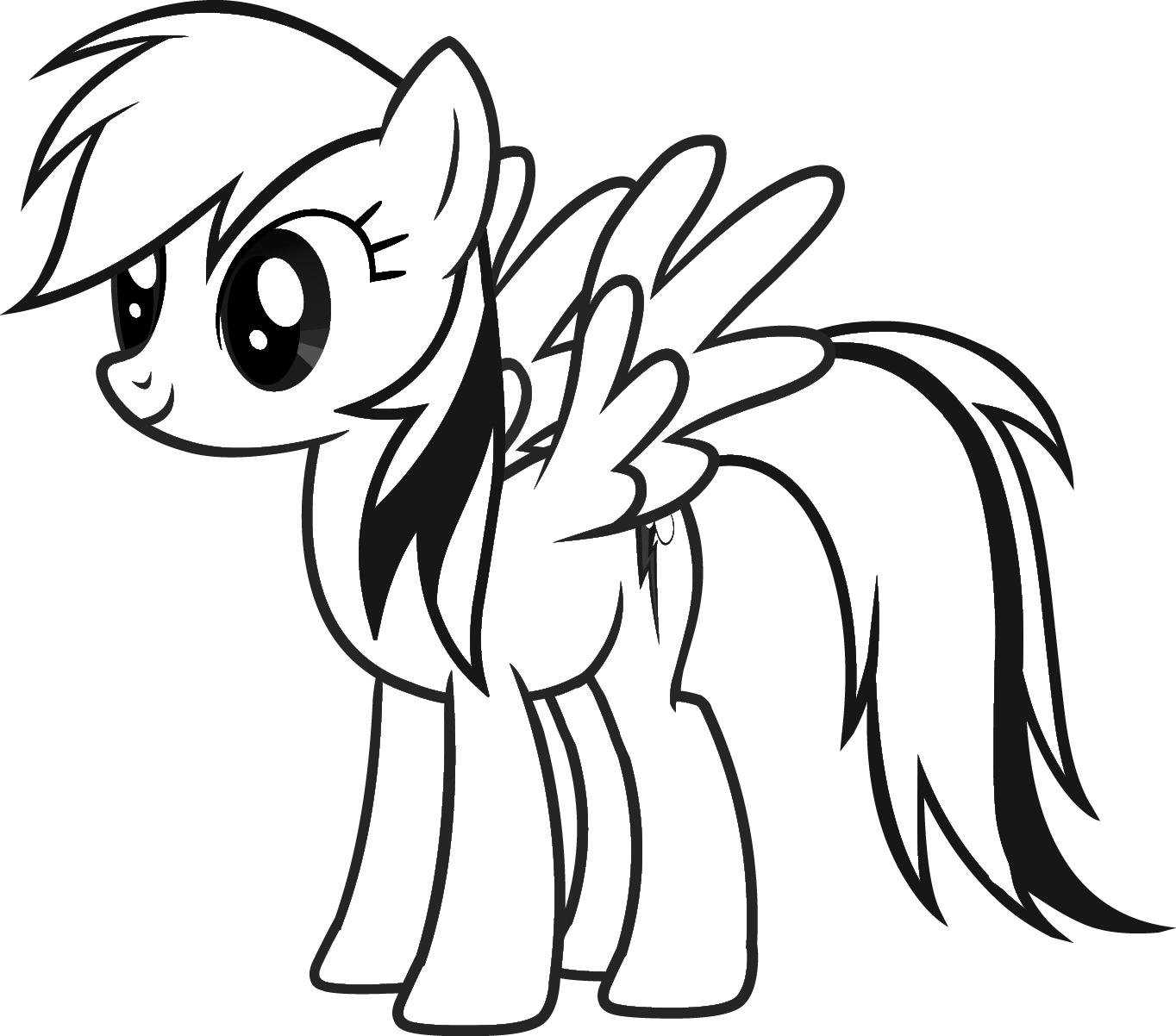 1364x1202 Free Printable My Little Pony Coloring Pages For Kids