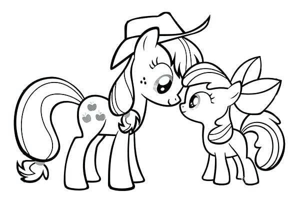 600x440 Mlp Coloring Pages To Print Download And Print My Little Pony