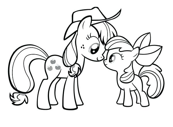 600x440 My Little Pony Coloring Pages To Print My Little Pony Friendship
