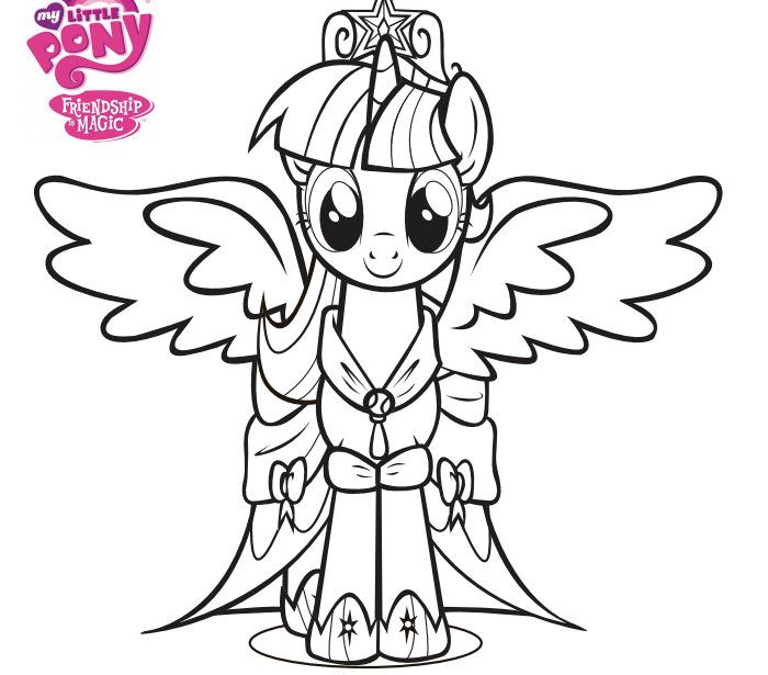 700x615 My Little Pony Friendship Is Magic Coloring Pages To Print My